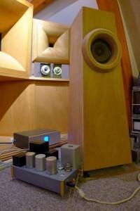 E55L SPUD amp + WE 755A speaker